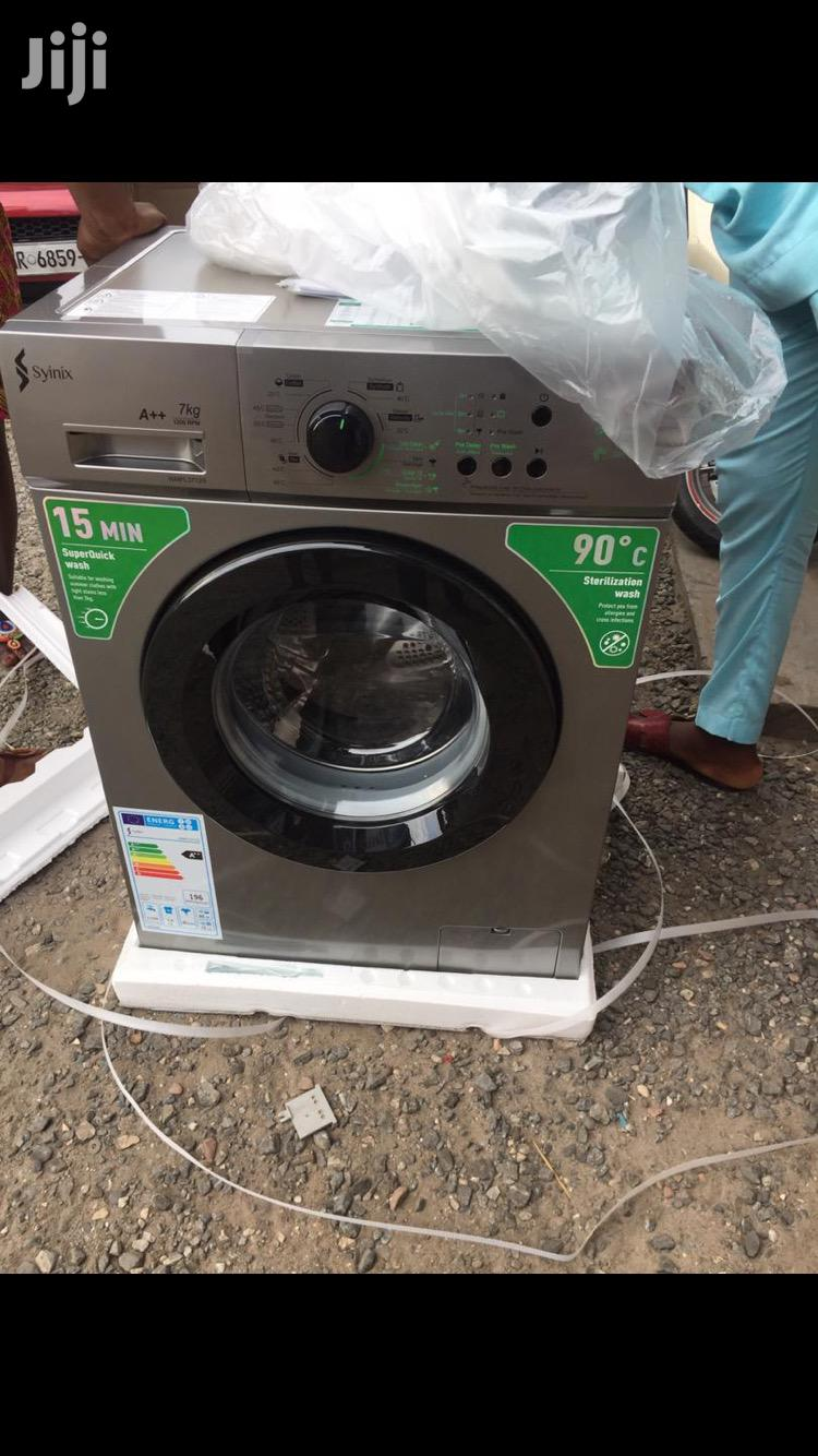 Archive: Syinix 6kg Front Load Full Automatic Washing Machine