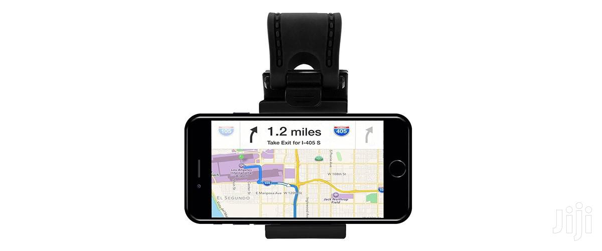 Promate Ezgrip Universal Car Steering Mobile Phone Holder | Accessories for Mobile Phones & Tablets for sale in Accra Metropolitan, Greater Accra, Ghana