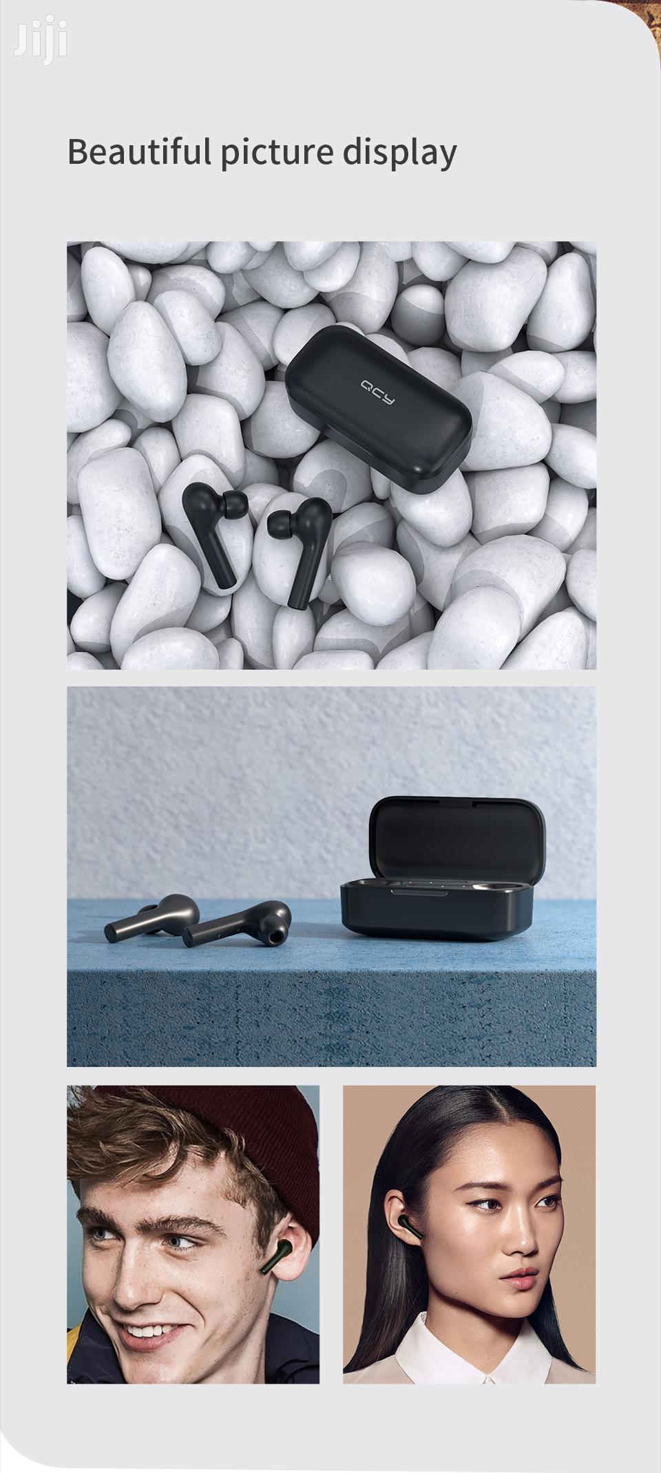 Qcy T5 Tws Bluetooth Touch Control Wireless Earphones Touch Control | Headphones for sale in Okponglo, Greater Accra, Ghana