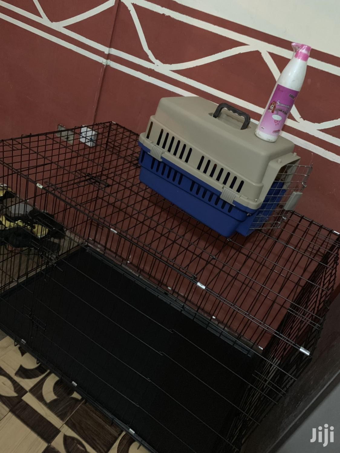 Metal + Plustic Cage | Pet's Accessories for sale in Adenta Municipal, Greater Accra, Ghana