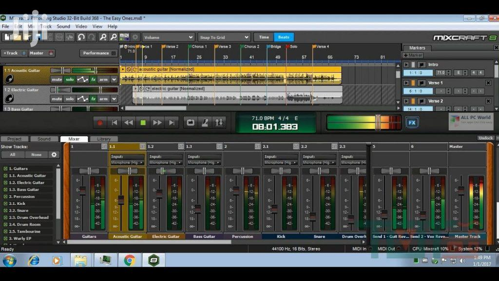 Acoustica Mixcraft Recording Studio 9 | Software for sale in Kumasi Metropolitan, Ashanti, Ghana
