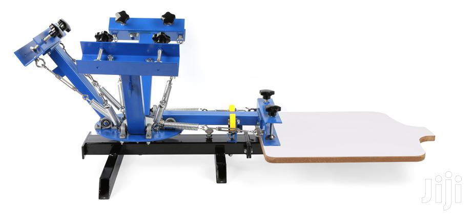 Archive: 4 Colour 1 Station Screen Printing Machines