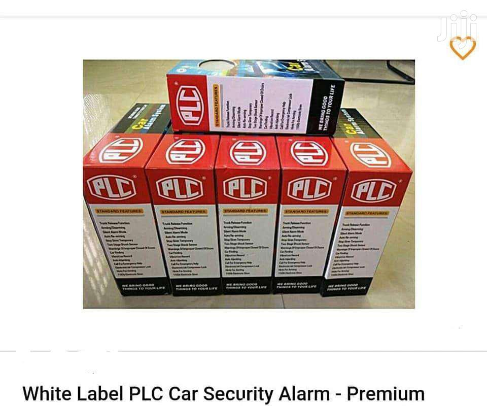 PLC Car Alarm Security Remote Lock System