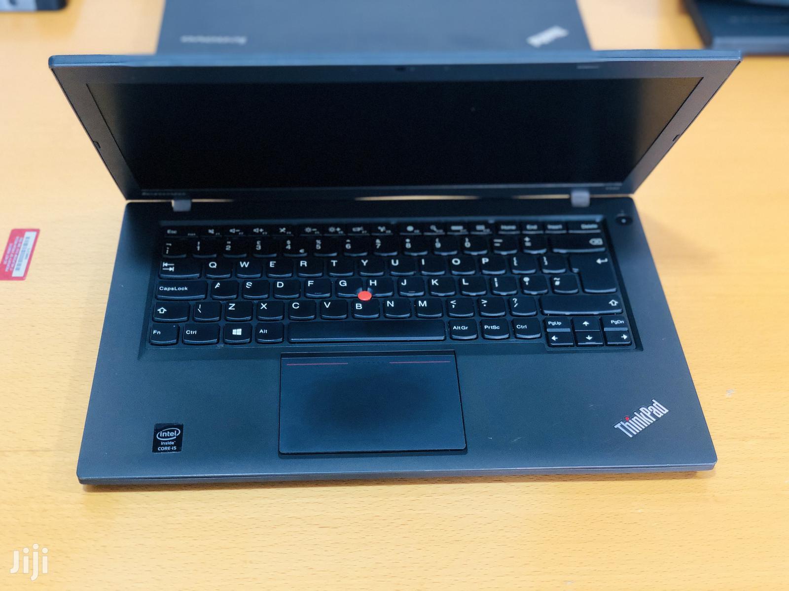 Laptop Lenovo ThinkPad T450 4GB Intel Core I5 SSD 128GB | Laptops & Computers for sale in Kumasi Metropolitan, Ashanti, Ghana