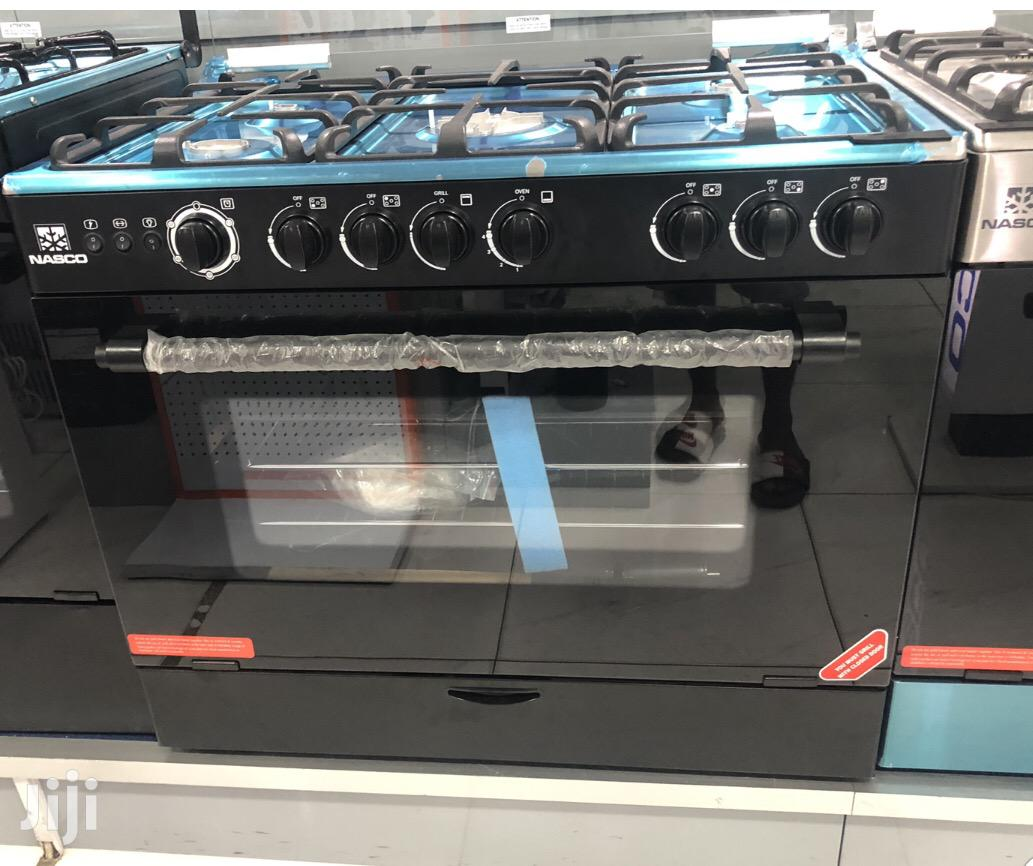 Quality Nasco 4 Burner Gas Cooker With Oven Grill