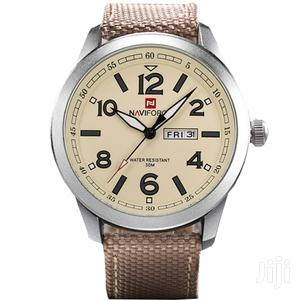Naviforce Analogue Quartz With Date Mens Leather Watch | Watches for sale in Greater Accra, Achimota