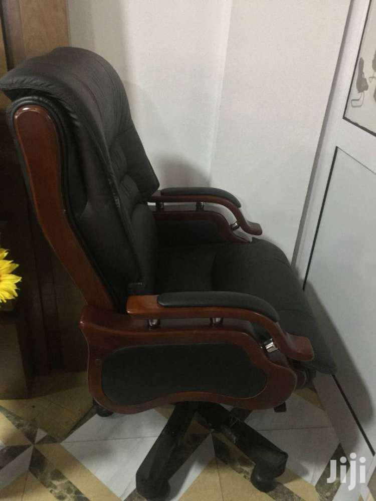 Executive Swivel Chair - Leather | Furniture for sale in Accra Metropolitan, Greater Accra, Ghana