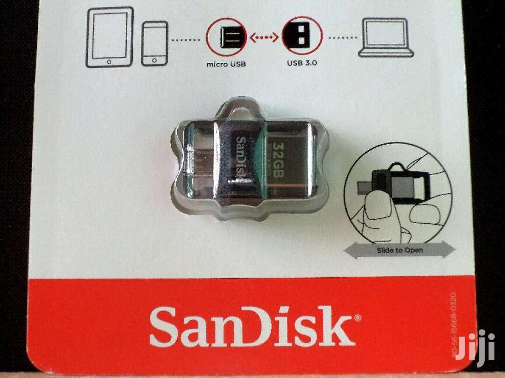 Sandisk 32GB Pen Drive and Micro USB Combo