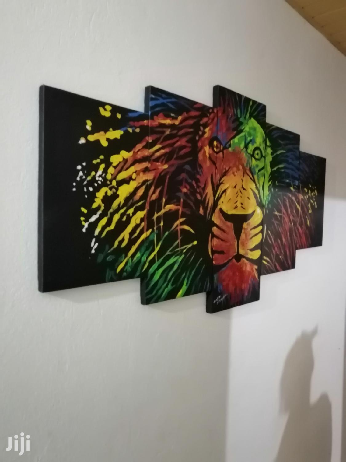 Lion King Rainbow Painting | Arts & Crafts for sale in Adenta Municipal, Greater Accra, Ghana