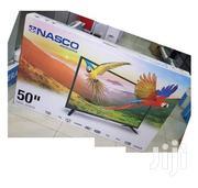 Nasco 50 Inches LED Satellite TV +FREE SPEAKER | TV & DVD Equipment for sale in Greater Accra, Adabraka