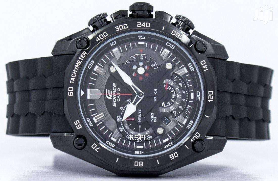 Stainless Black Casio Edifice Mans Watch | Watches for sale in Achimota, Greater Accra, Ghana