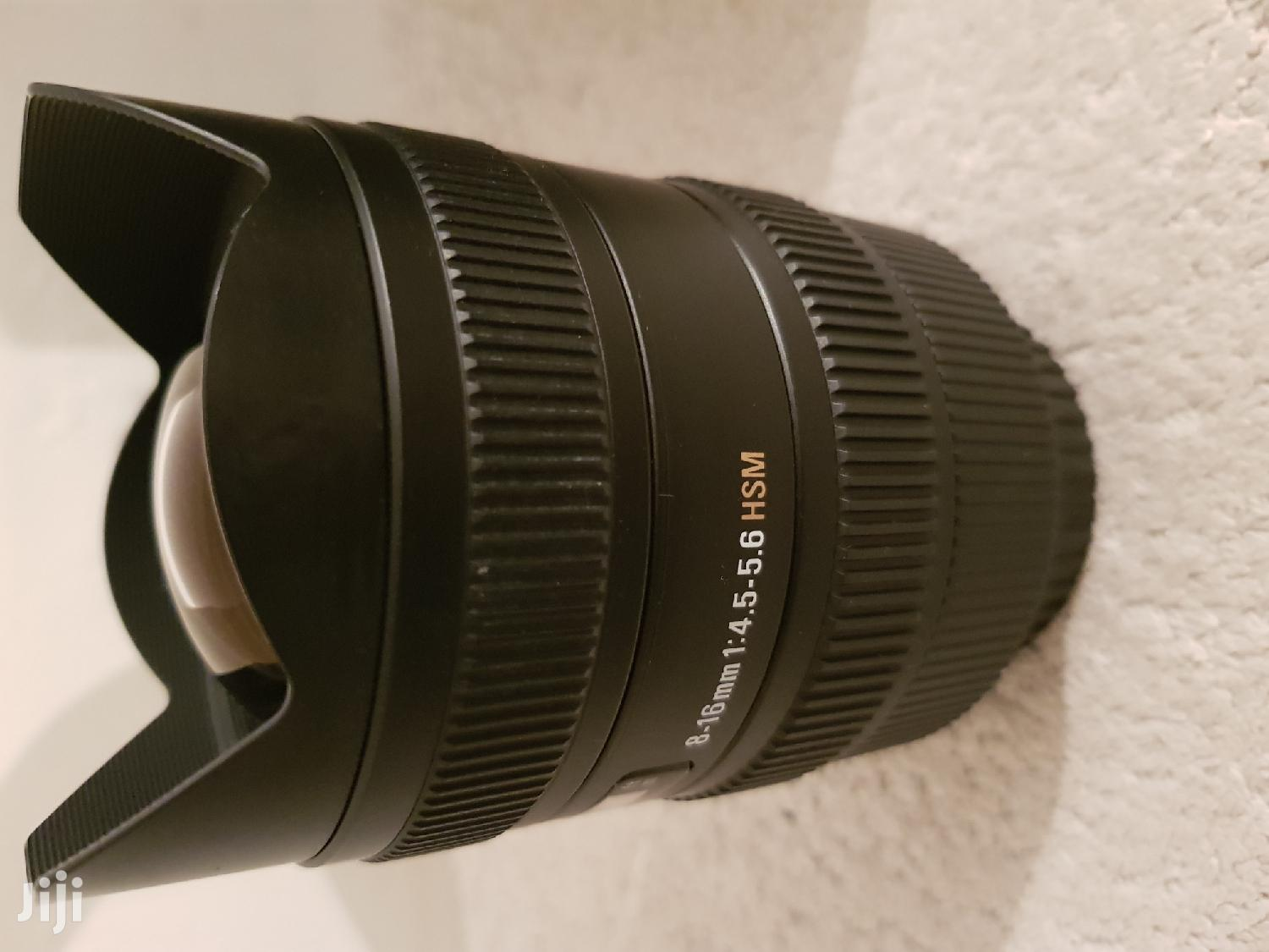 Canon Fit Sigma 8-16mm Lens