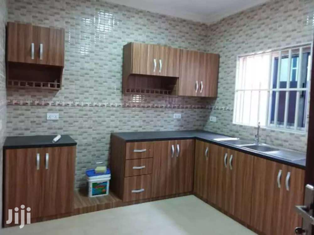 Walnut Wooden Kitchen Cabinet From Ksa Furnitures