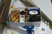 BLUE CITY Kente Fabric Flying Tie Gift Set Package | Clothing Accessories for sale in Greater Accra, Odorkor