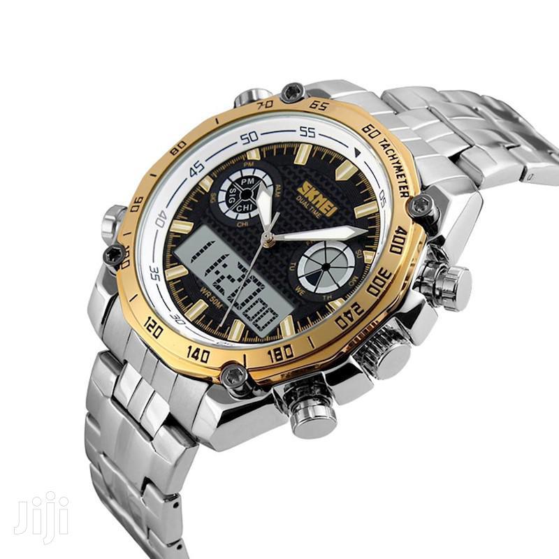 SKMEI Digital Watch Sport Quartz Men's Watch Stainless