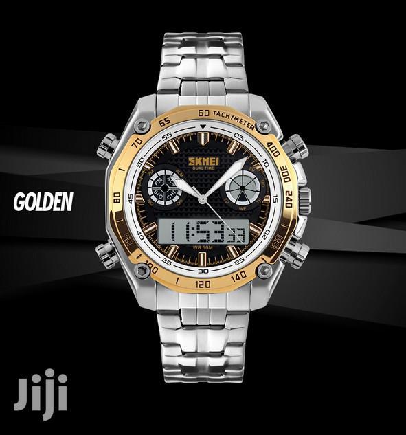 SKMEI Digital Watch Sport Quartz Men's Watch Stainless | Watches for sale in Achimota, Greater Accra, Ghana