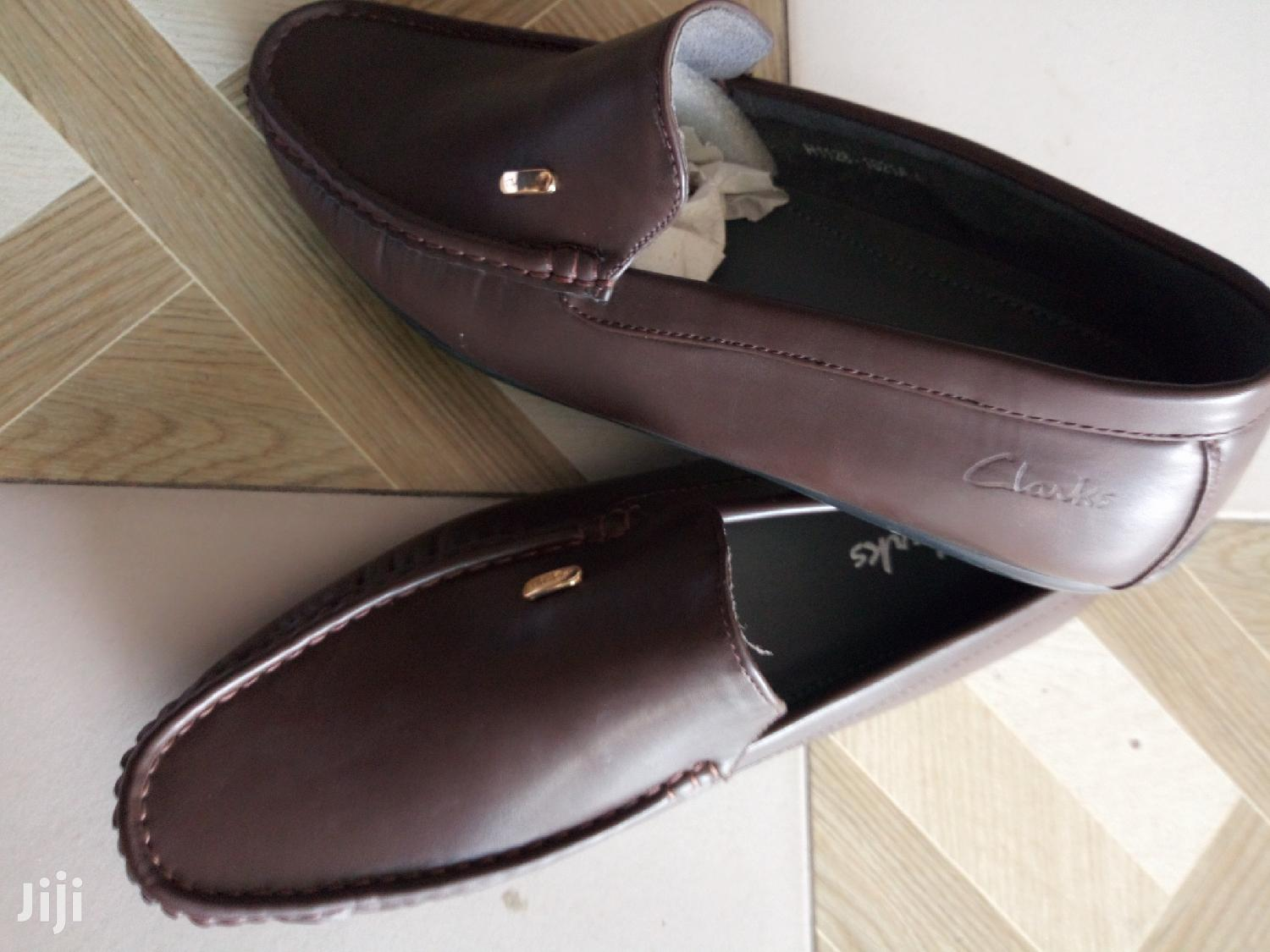Clarks Brown Leather Loafers   Shoes for sale in Ga East Municipal, Greater Accra, Ghana