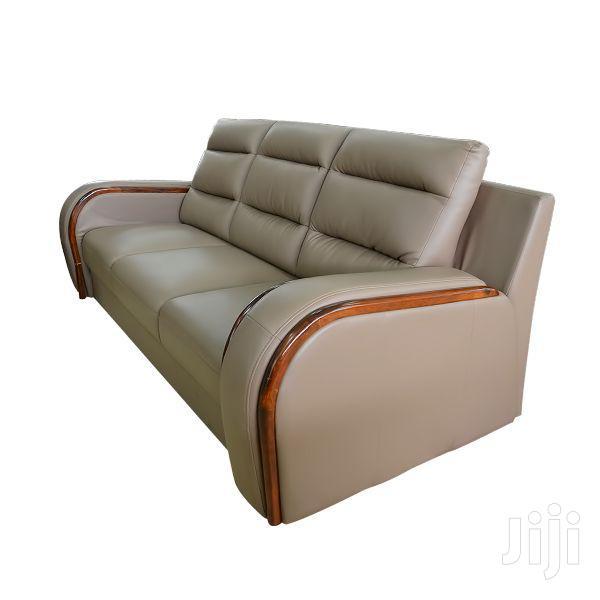 Sofa Set Leatherite 7 Seater