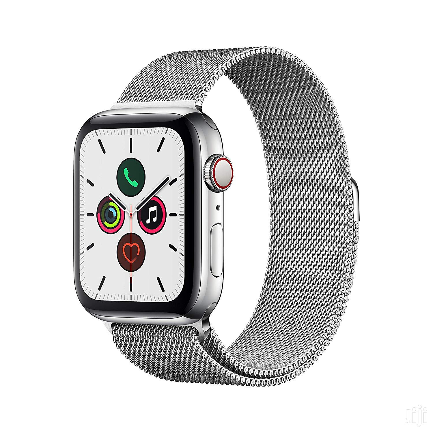Apple Watch Series 5 (GPS/Cellular) Stainless Steel | Smart Watches & Trackers for sale in Osu, Greater Accra, Ghana