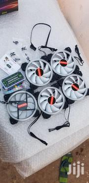 RGB Fans 5 Pack 120mm For System Unit   Laptops & Computers for sale in Greater Accra, Achimota
