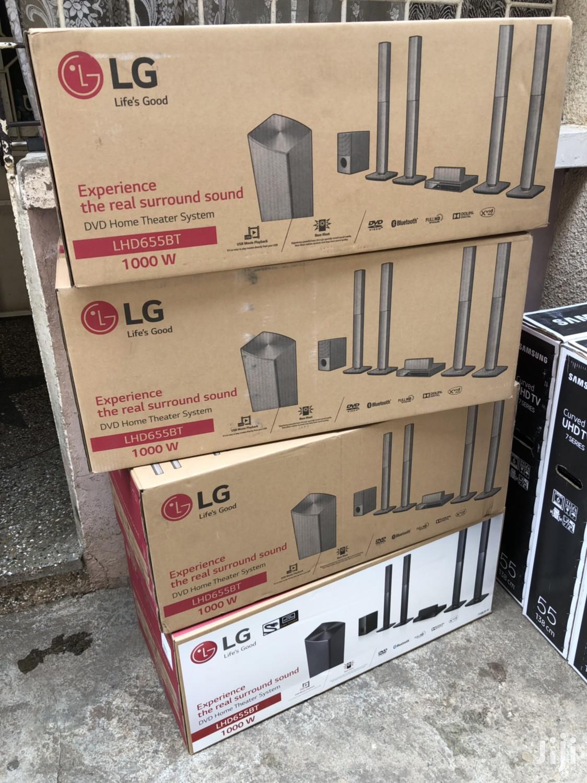 1000W LG Bluetooth Hometheatre   Audio & Music Equipment for sale in Kumasi Metropolitan, Ashanti, Ghana