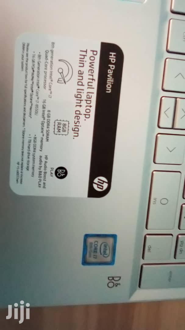 Archive: New Laptop HP Pavilion 15t 24GB Intel Core I7 SSHD (Hybrid) 1T