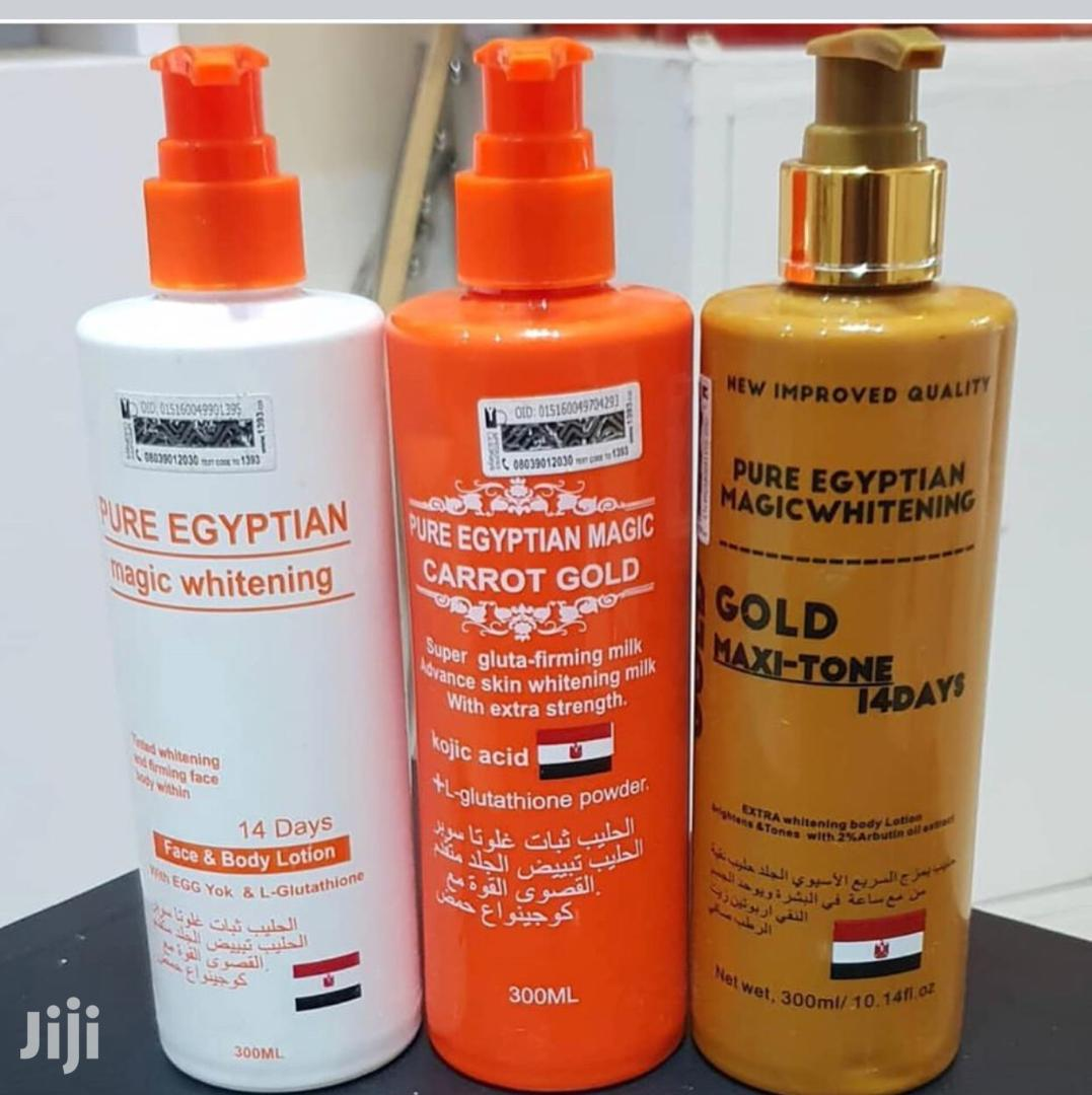 Archive: Pure Egyptian Magic Whitening/Carrot Gold