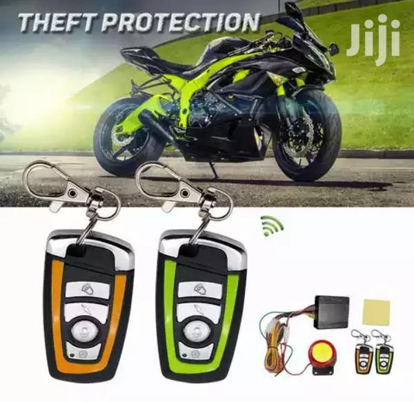 Universal Motorcycle Anti-theft Alarm Security System & Remote Control