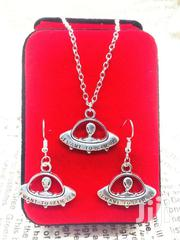 Set of Alien Pendant Necklace Earrings Charm Fashion Ornaments   Jewelry for sale in Greater Accra, Ga South Municipal