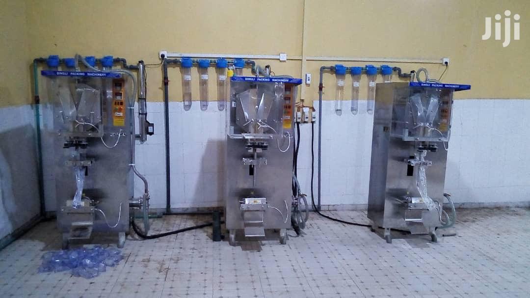 Automatic Liquid Sachets Machine