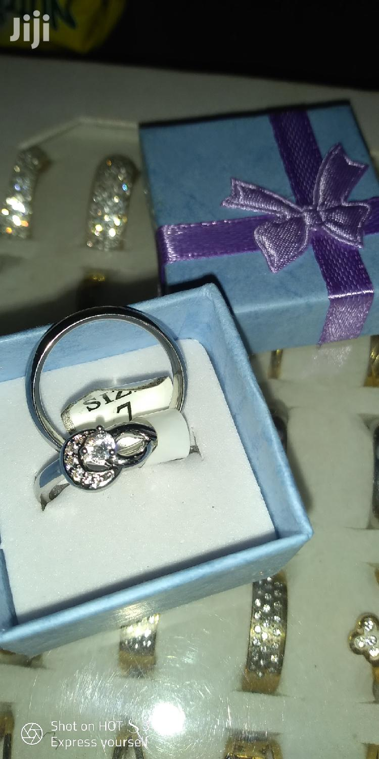 Archive: Non Fading Silver Ring Set.