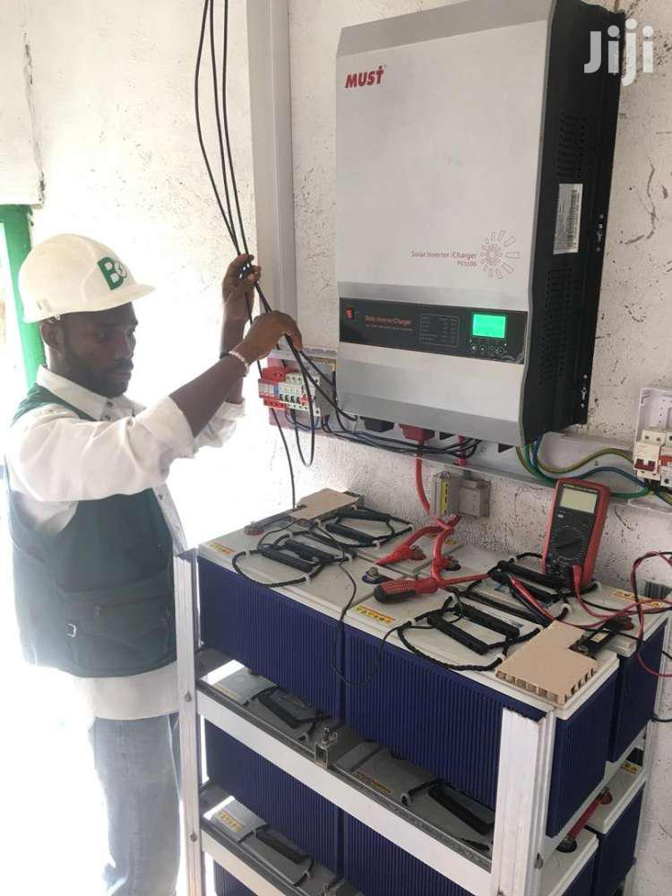 Solar Installation   Building & Trades Services for sale in Sunyani Municipal, Brong Ahafo, Ghana