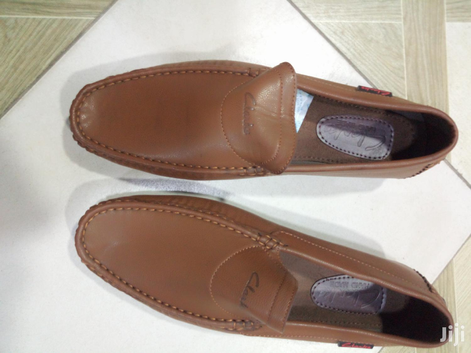 Mens Clarks Brown Loafers | Shoes for sale in Ga East Municipal, Greater Accra, Ghana