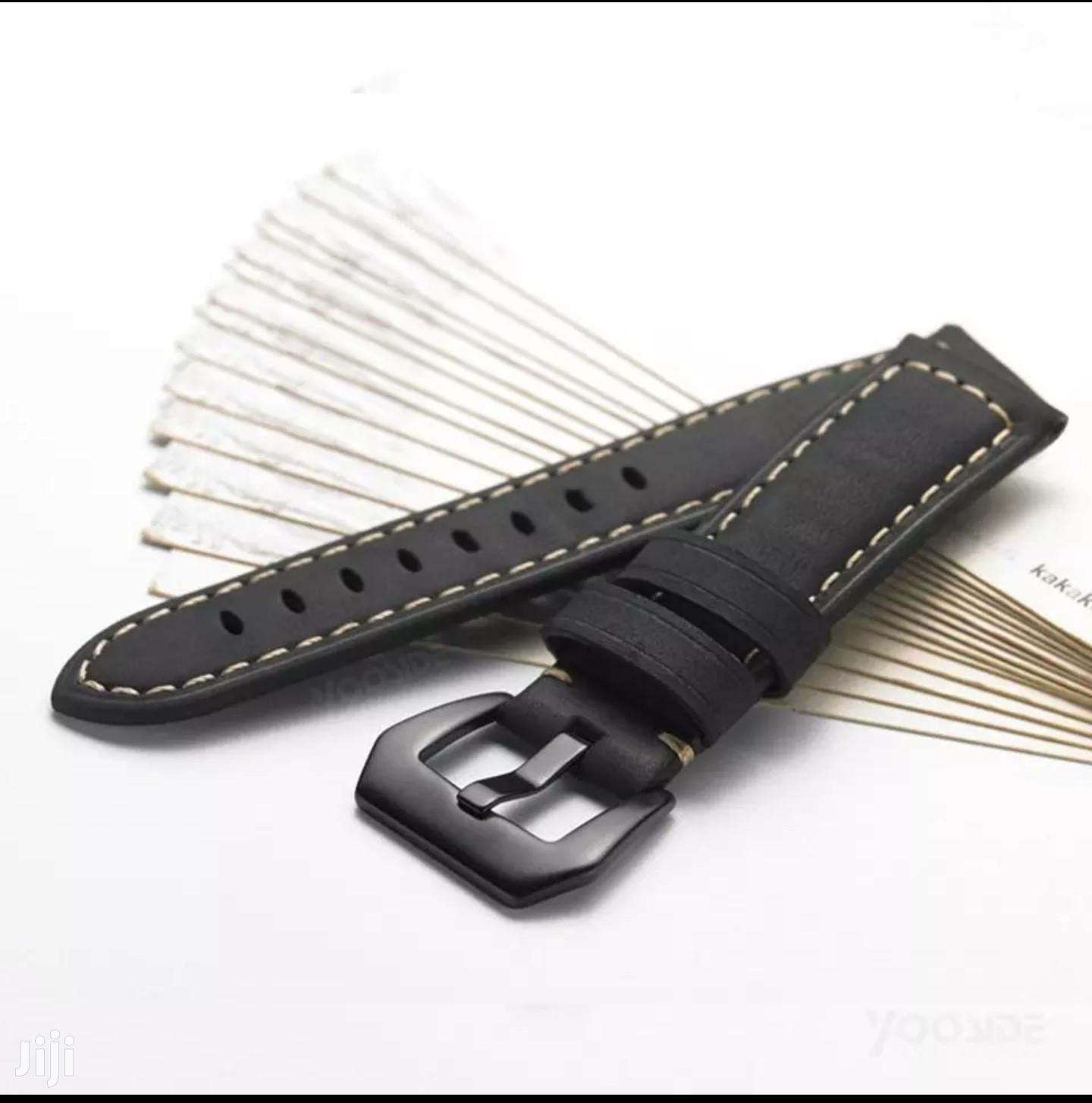 Genuine Leather Watch Straps | Watches for sale in Adenta Municipal, Greater Accra, Ghana
