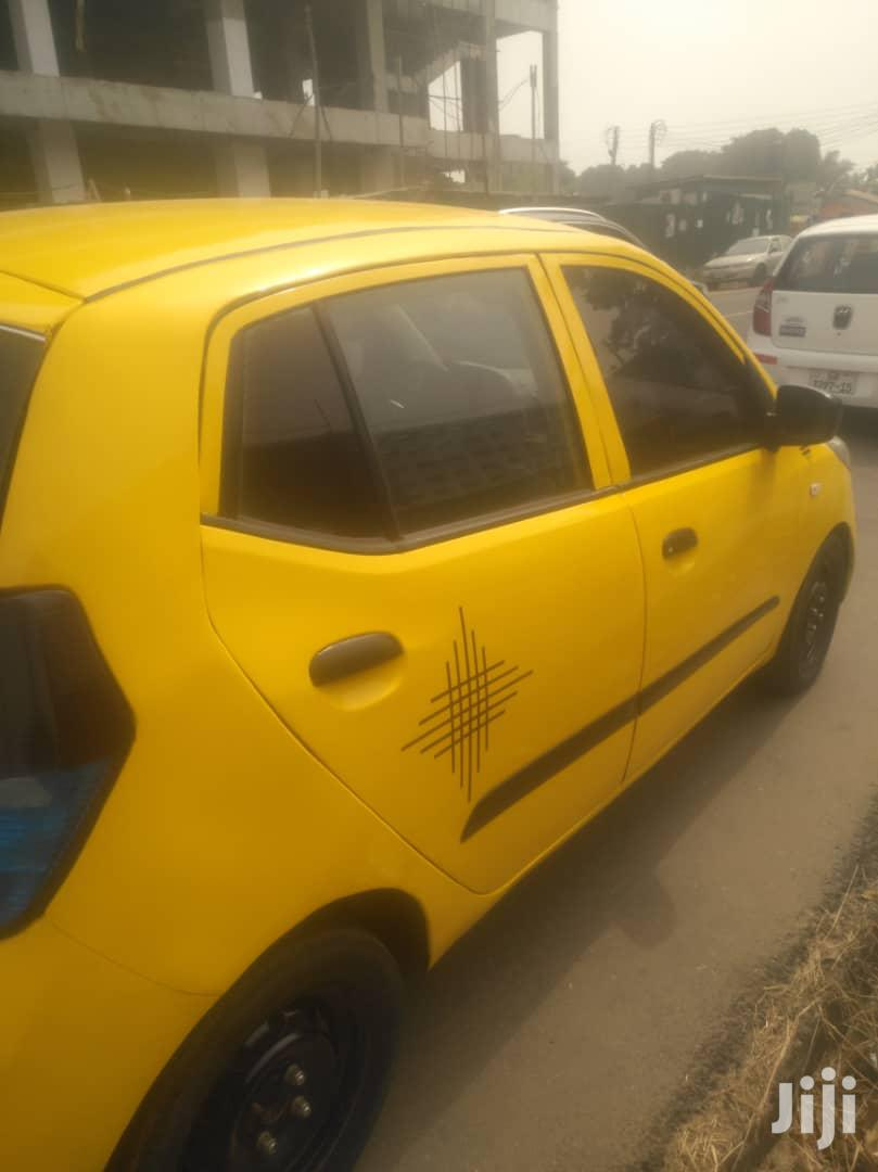 Hyundai i10 2009 1.2 Yellow | Cars for sale in Cantonments, Greater Accra, Ghana