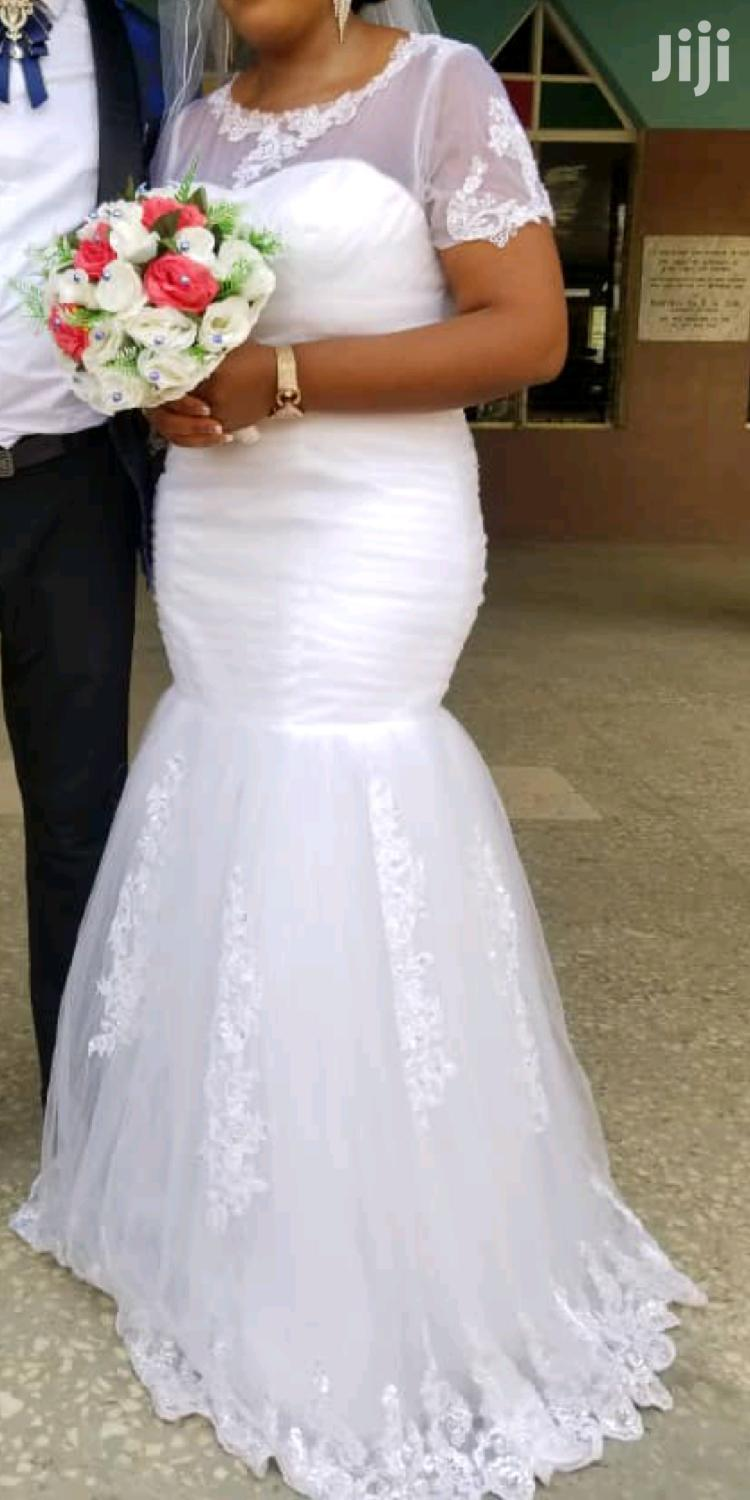 White Wedding Gown | Wedding Wear & Accessories for sale in Achimota, Greater Accra, Ghana