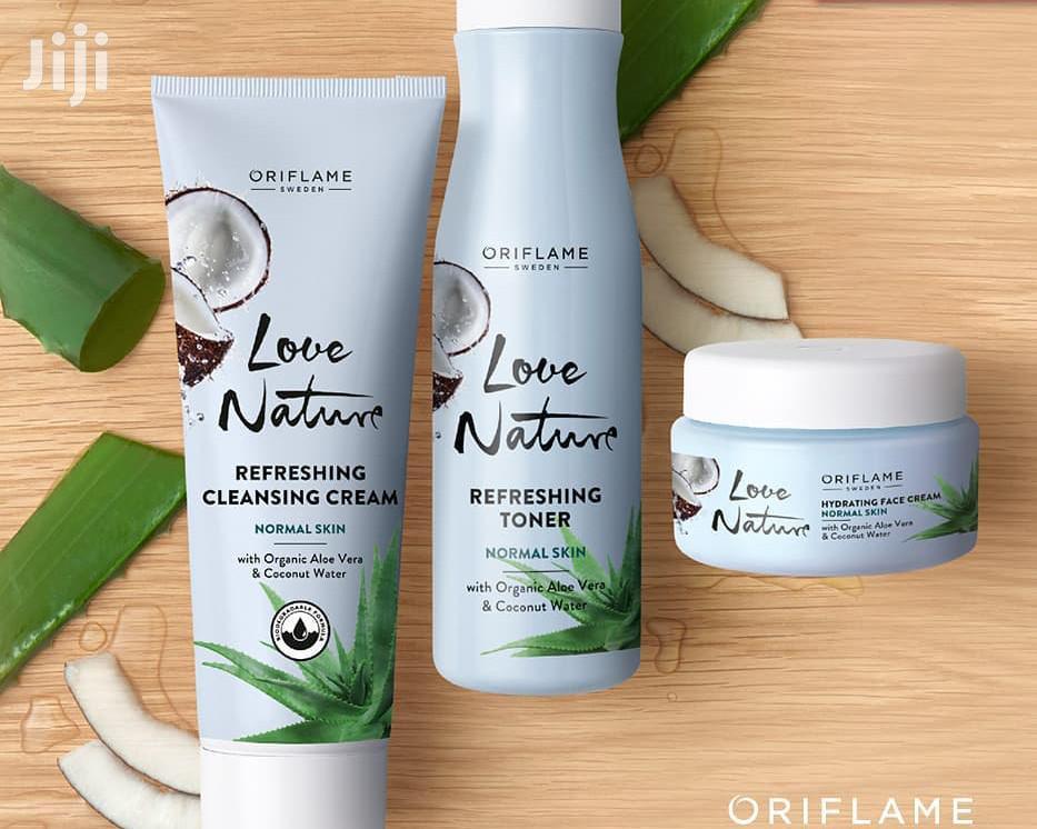 LN Organic Aloe Coco Facial Set