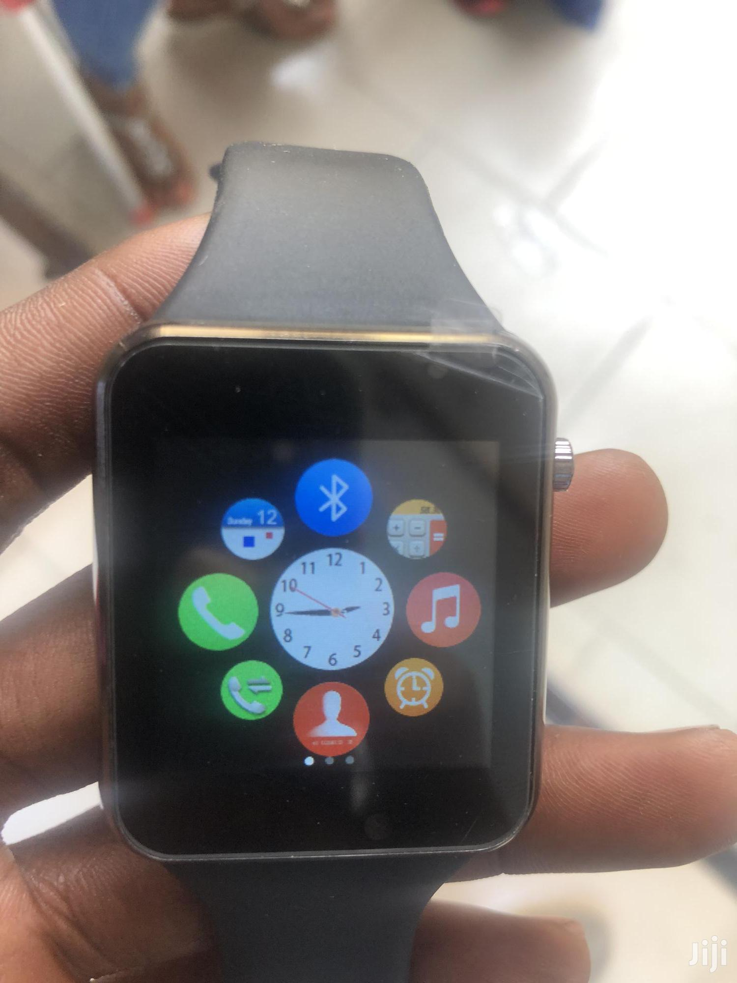 A1 Smart Watch With SIM Card And Camera | Smart Watches & Trackers for sale in Adabraka, Greater Accra, Ghana