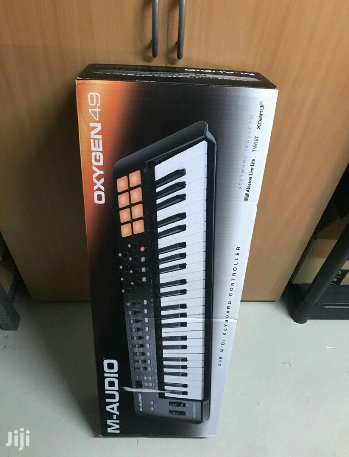 M-Audio Oxygen 49 Midi Keyboard New Without Original Box