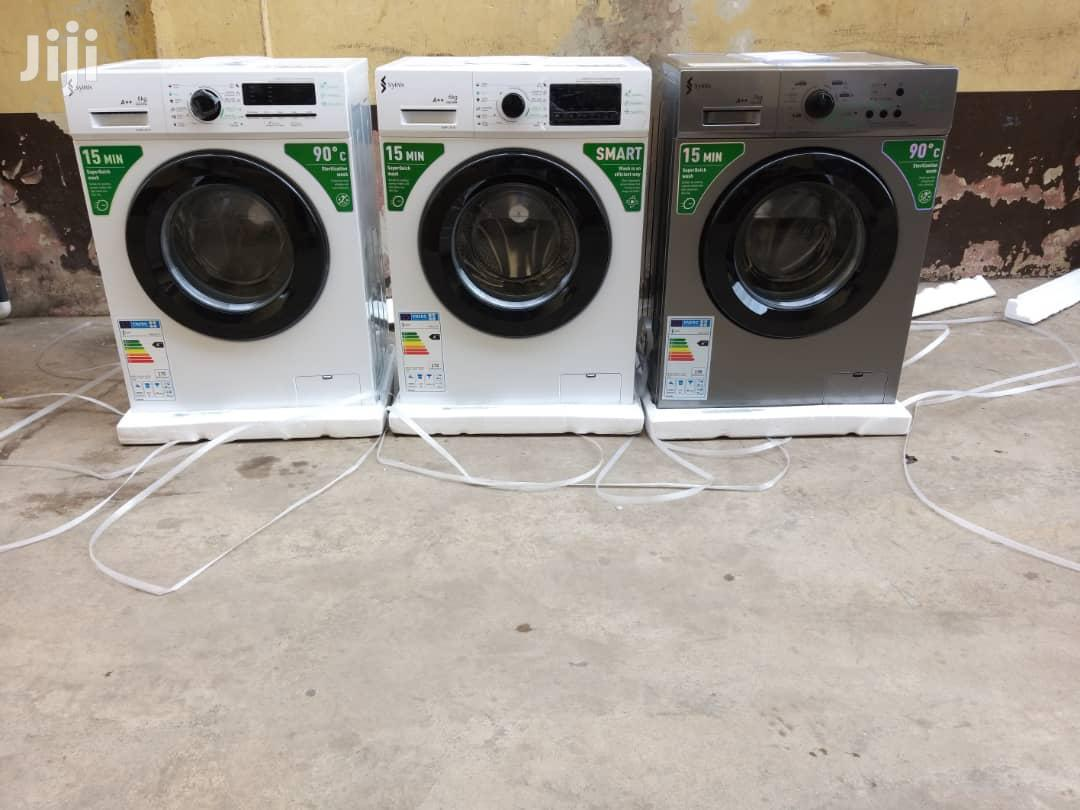 Syinix 6kg Front Load Automatic Washing Machine