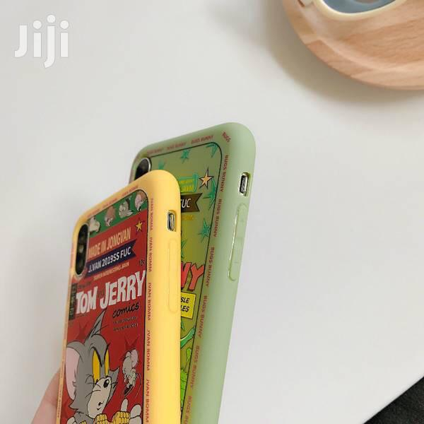 Tom Jerry iPhone Case 4 iPhone 11promax 11pro Xsmax Xr Xs X 8p 7p 8 7   Accessories for Mobile Phones & Tablets for sale in Accra Metropolitan, Greater Accra, Ghana