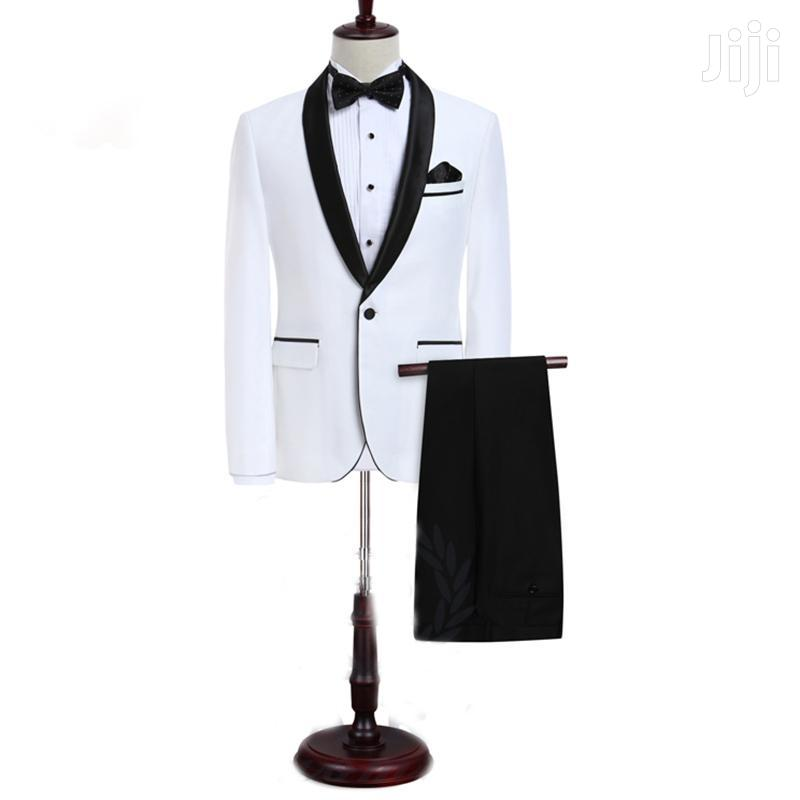 White and Black Tuxedo Suit | Clothing for sale in East Legon, Greater Accra, Ghana