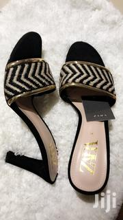 Authentic Zara Slippers Heel | Shoes for sale in Greater Accra, Nii Boi Town