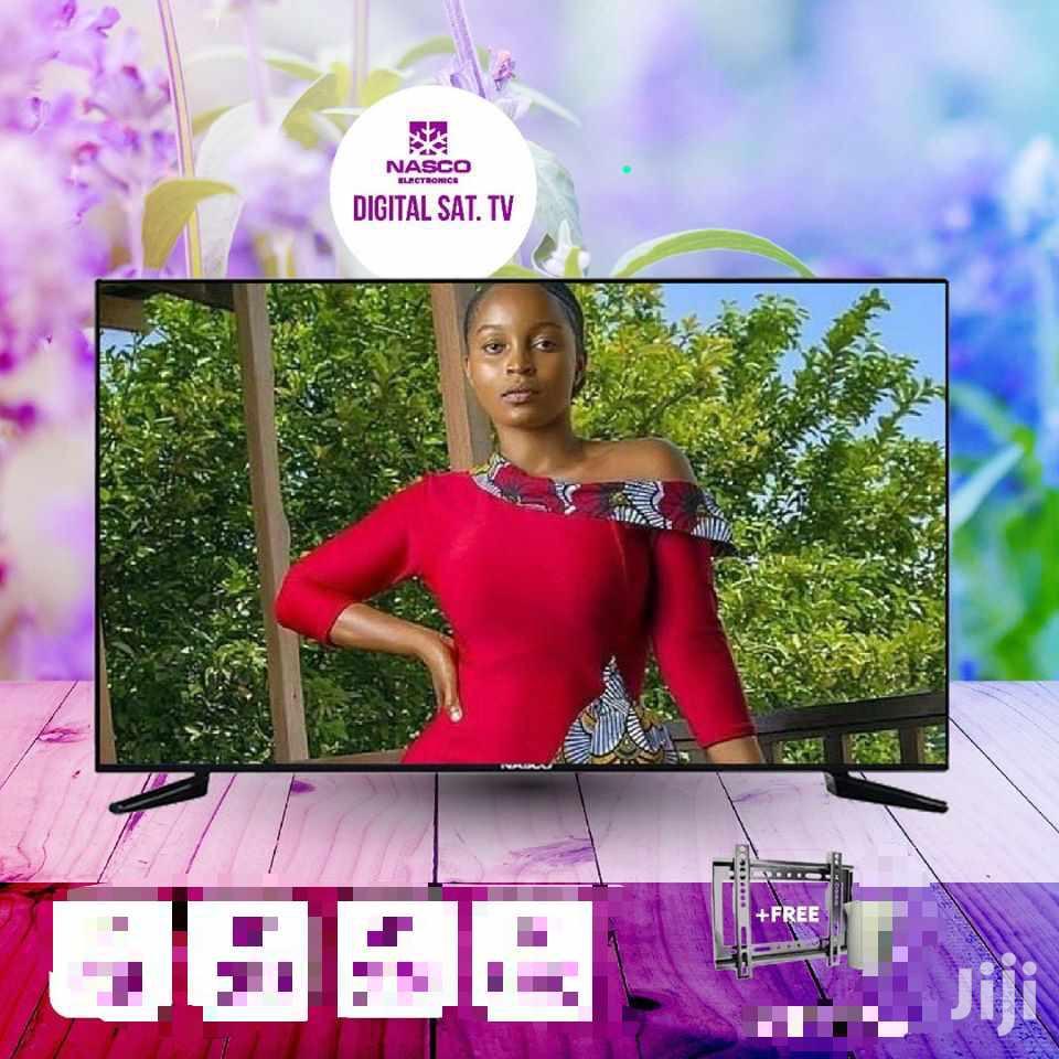 """Nasco 43""""Digital Satellite Led Tv"""