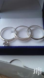 3 Sets Sterling Silver Rings for Wedding | Wedding Wear for sale in Greater Accra, Tema Metropolitan