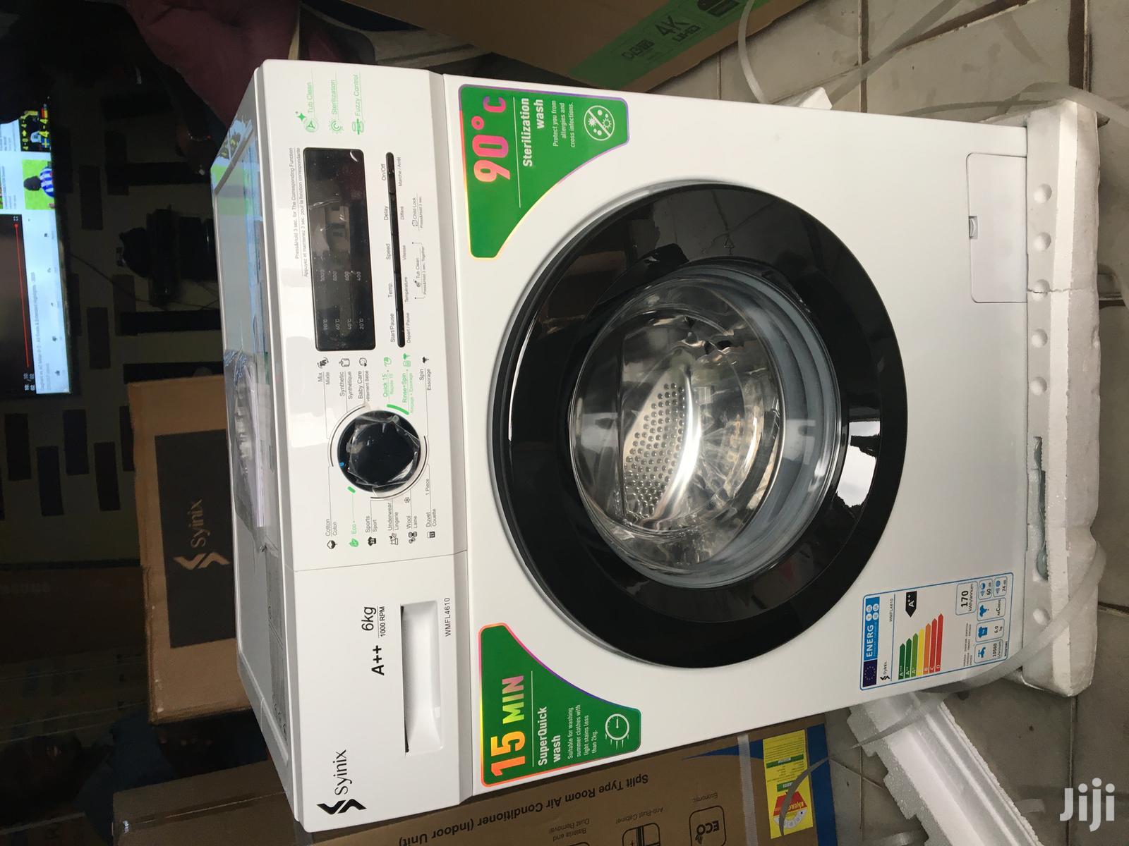Brand New Syinix 6kg Full Automatic Front Load Washing Machine