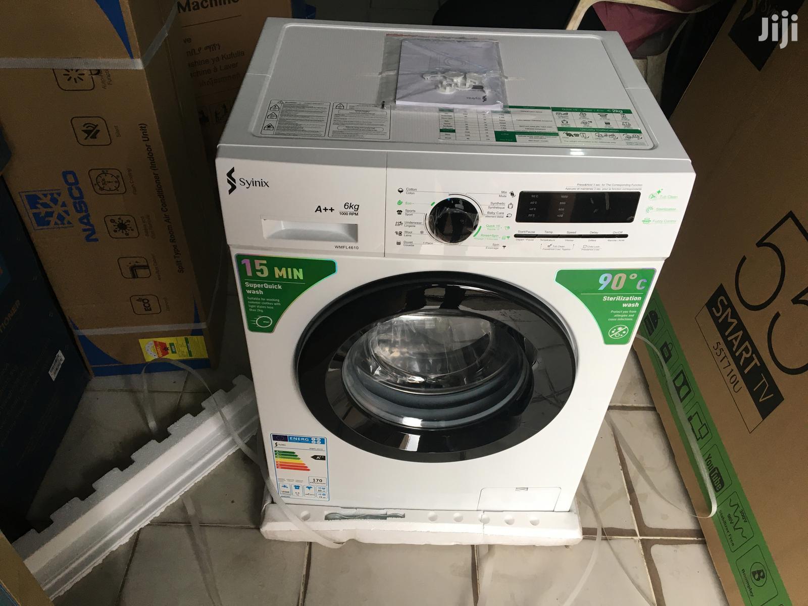 Syinix Front Load 6kg Full Automatic Washing Machine