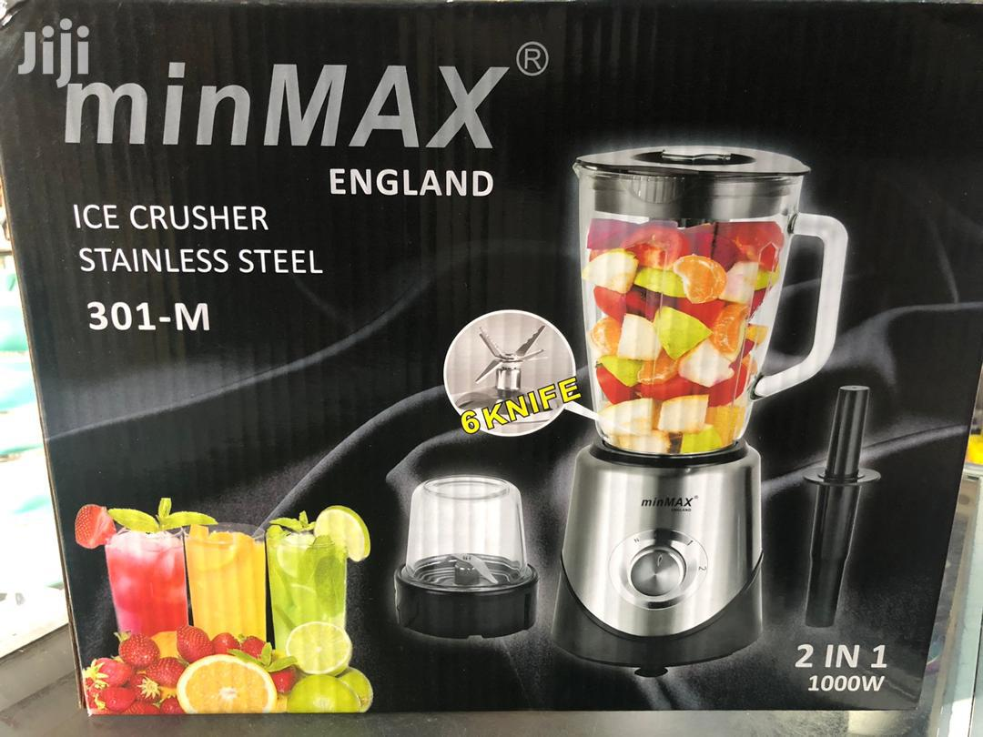 Minmaxx England Glass Blender