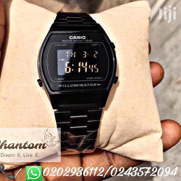 Casio Illuminator Black Watch