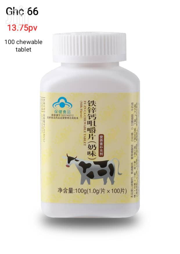 Calcium, Iron Zinc Supplement